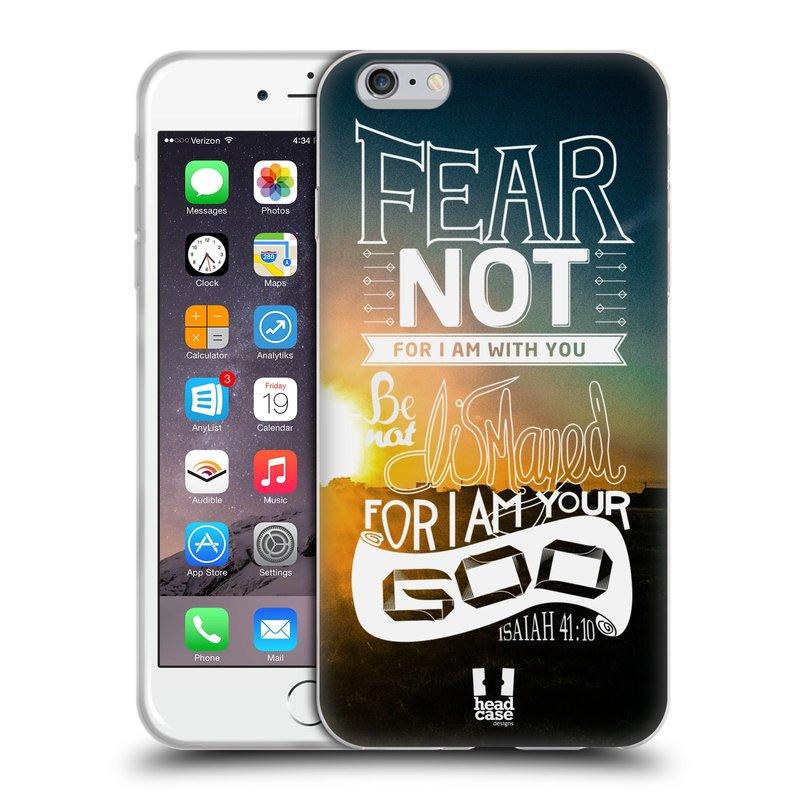 Silikonové pouzdro na mobil Apple iPhone 6 Plus a 6S Plus HEAD CASE FEAR (Silikonový kryt či obal na mobilní telefon Apple iPhone 6 Plus a 6S Plus)