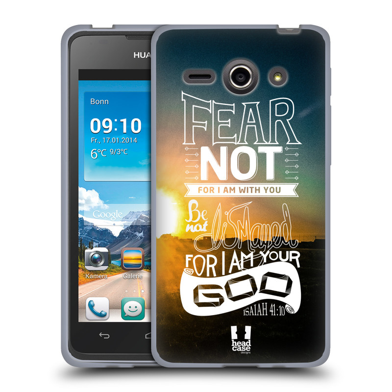 Silikonové pouzdro na mobil Huawei Ascend Y530 HEAD CASE FEAR (Silikonový kryt či obal na mobilní telefon Huawei Ascend Y530)