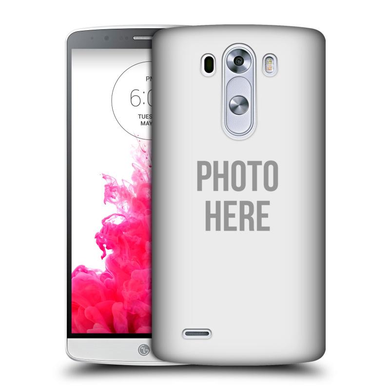 Plastové pouzdro na mobil LG G3 HEAD CASE s vlastním motivem (Kryt či obal s vlastní fotografií na mobilní telefon LG G3)