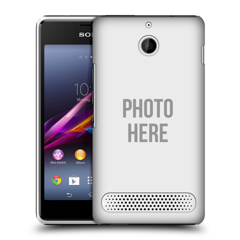 Plastové pouzdro na mobil Sony Xperia E1 D2005 HEAD CASE s vlastním motivem (Kryt či obal s vlastní fotografií na mobilní telefon Sony Xperia E1 a E1 Dual)