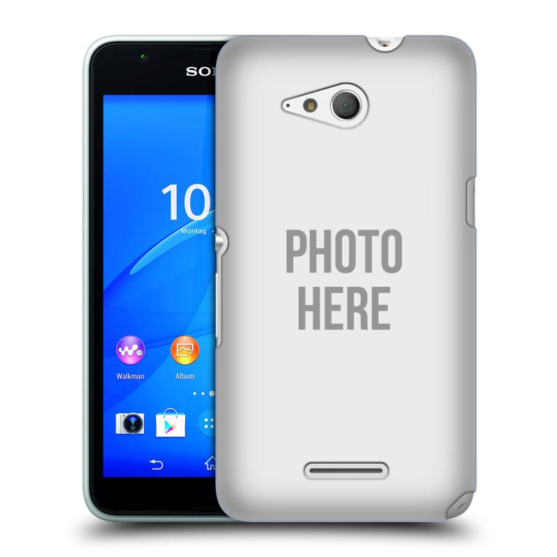 Plastové pouzdro na mobil Sony Xperia E4g E2003 HEAD CASE s vlastním motivem (Kryt či obal s vlastní fotografií na mobilní telefon Sony Xperia E4g a E4g Dual SIM)