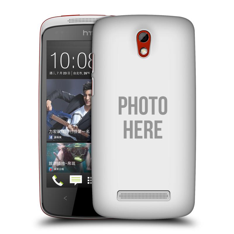 Plastové pouzdro na mobil HTC Desire 500 HEAD CASE s vlastním motivem (Kryt či obal s vlastní fotografií na mobilní telefon HTC Desire 500)