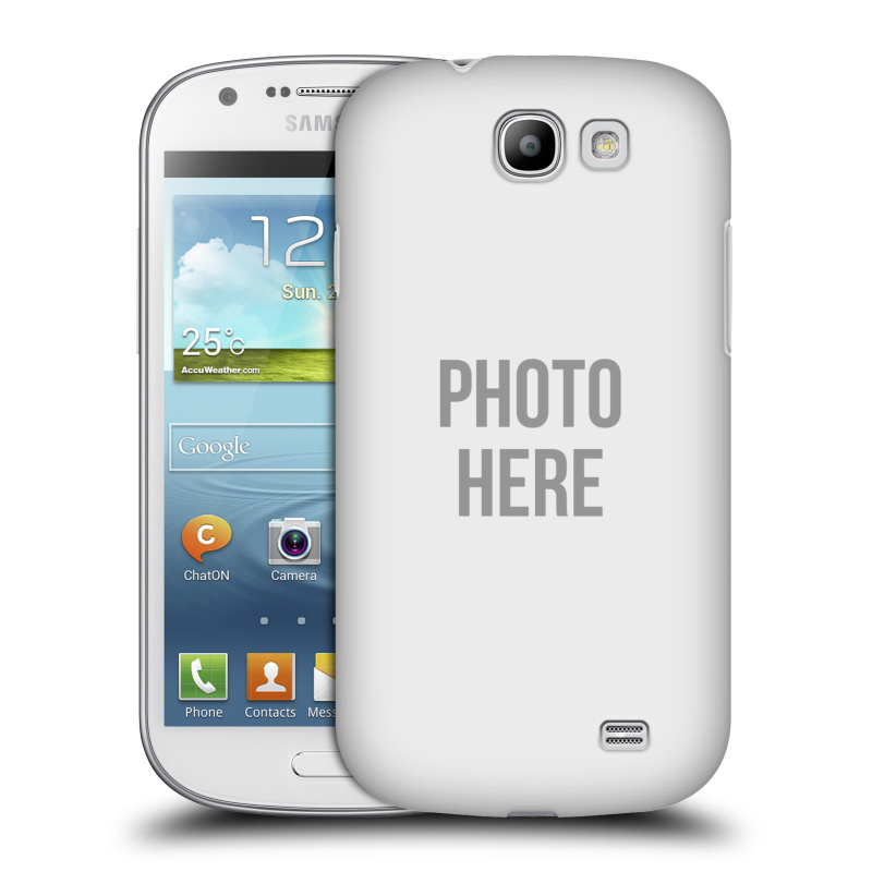 Plastové pouzdro na mobil Samsung Galaxy Express HEAD CASE s vlastním motivem (Kryt či obal s vlastní fotografií na mobilní telefon Samsung Galaxy Express GT-i8730)