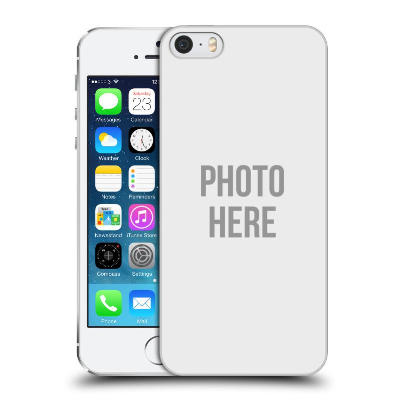 Plastové pouzdro na mobil Apple iPhone SE, 5 a 5S HEAD CASE s vlastním motivem (Kryt či obal s vlastní fotografií na mobilní telefon Apple iPhone SE, 5 a 5S)