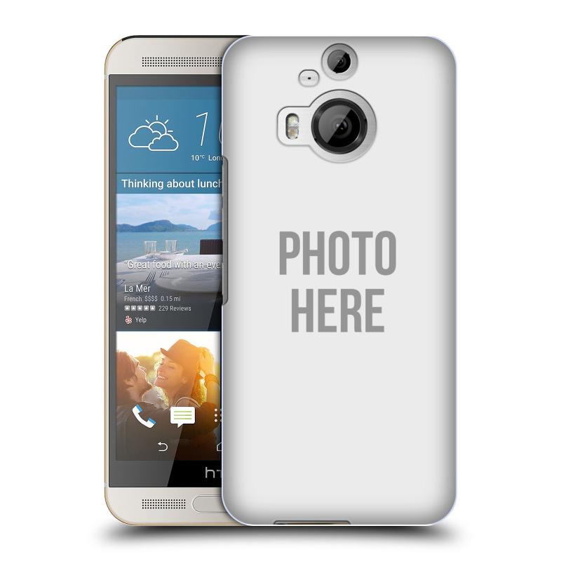 Plastové pouzdro na mobil HTC One M9+ (Plus) HEAD CASE s vlastním motivem (Kryt či obal s vlastní fotografií na mobilní telefon HTC One M9+)