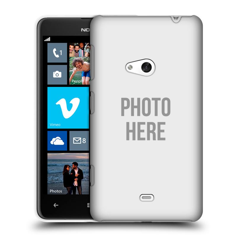 Plastové pouzdro na mobil Nokia Lumia 625 HEAD CASE s vlastním motivem (Kryt či obal s vlastní fotografií na mobilní telefon Nokia Lumia 625)