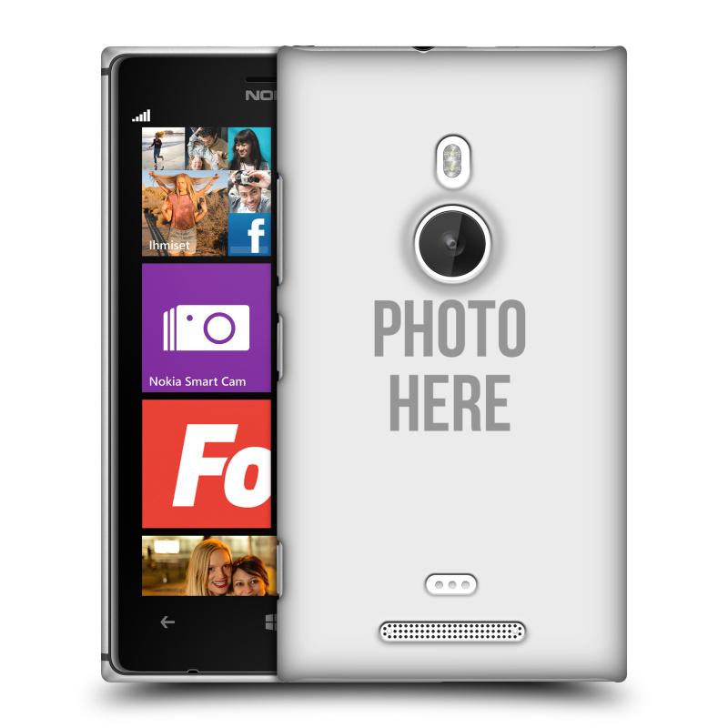 Plastové pouzdro na mobil Nokia Lumia 925 HEAD CASE s vlastním motivem (Kryt či obal s vlastní fotografií na mobilní telefon Nokia Lumia 925)