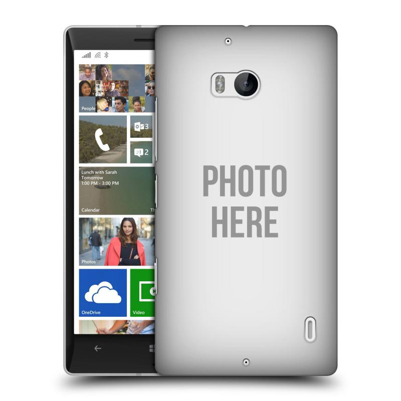 Plastové pouzdro na mobil Nokia Lumia 930 HEAD CASE s vlastním motivem (Kryt či obal s vlastní fotografií na mobilní telefon Nokia Lumia 930)