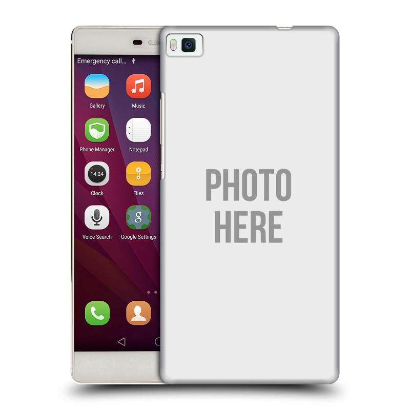 Plastové pouzdro na mobil Huawei P8 HEAD CASE s vlastním motivem (Kryt či obal s vlastní fotografií na mobilní telefon Huawei Ascend P8)