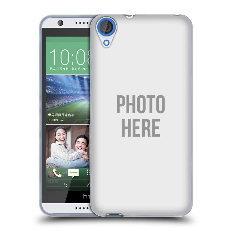 Silikonové pouzdro na mobil HTC Desire 820 HEAD CASE s vlastním motivem (Silikonový kryt či obal s vlastní fotografií na mobilní telefon HTC Desire 820)