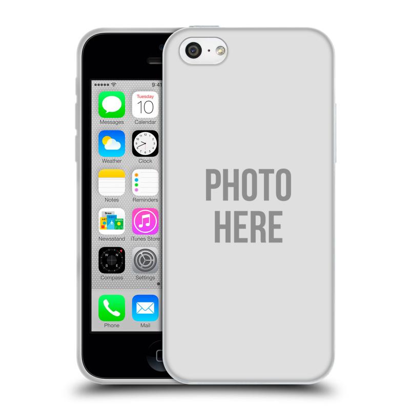 Silikonové pouzdro na mobil Apple iPhone 5C HEAD CASE s vlastním motivem (Silikonový kryt či obal s vlastní fotografií na mobilní telefon Apple iPhone 5C)