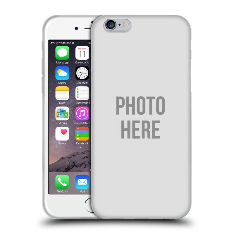 Silikonové pouzdro na mobil Apple iPhone 6 HEAD CASE s vlastním motivem (Silikonový kryt či obal s vlastní fotografií na mobilní telefon Apple iPhone 6)