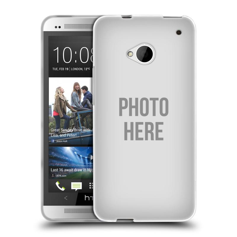 Silikonové pouzdro na mobil HTC ONE M7 HEAD CASE s vlastním motivem (Silikonový kryt či obal s vlastní fotografií na mobilní telefon HTC ONE M7)