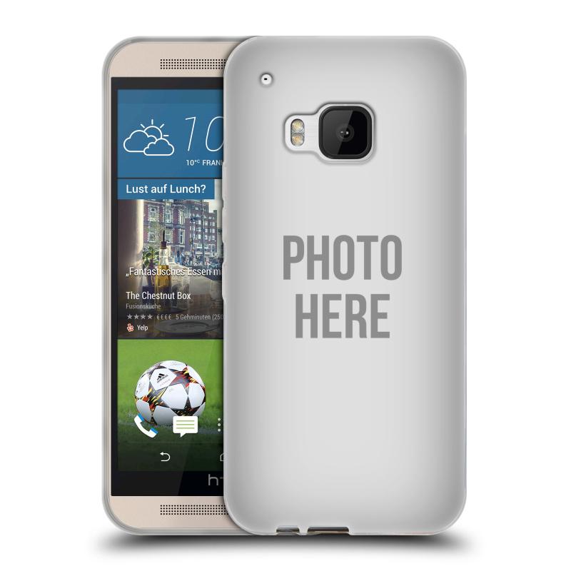 Silikonové pouzdro na mobil HTC ONE M9 HEAD CASE s vlastním motivem (Silikonový kryt či obal s vlastní fotografií na mobilní telefon HTC ONE M9)