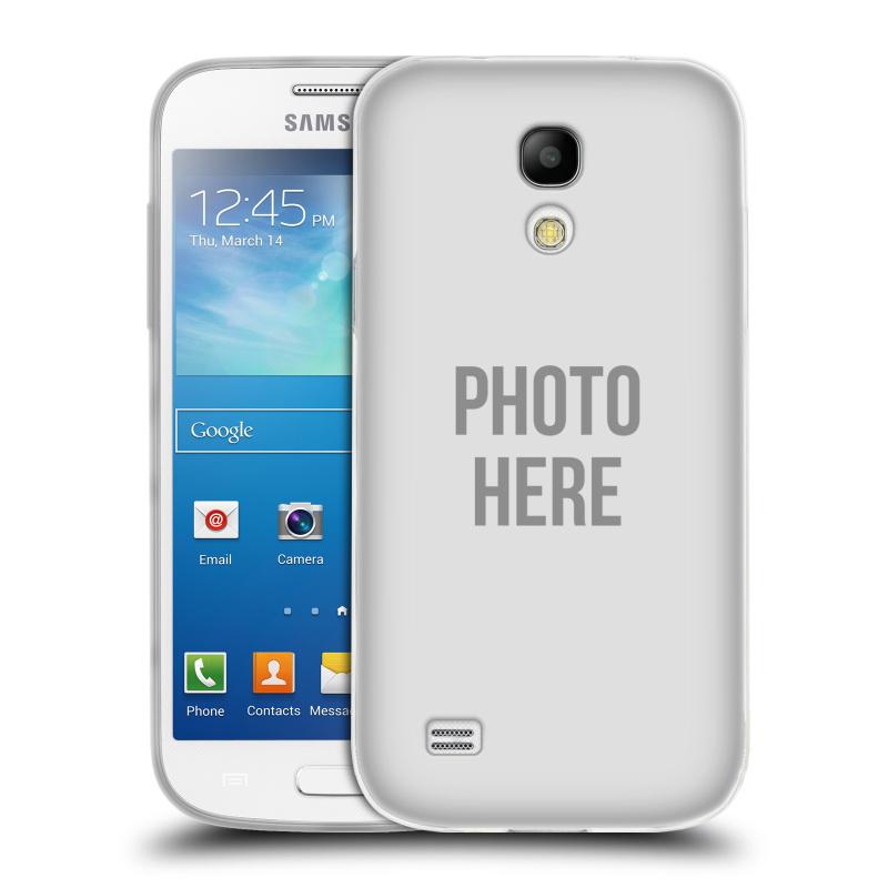 Silikonové pouzdro na mobil Samsung Galaxy S4 Mini HEAD CASE s vlastním motivem (Silikonový kryt či obal s vlastní fotografií na mobilní telefon Samsung Galaxy S4 Mini GT-i9195 / i9190)