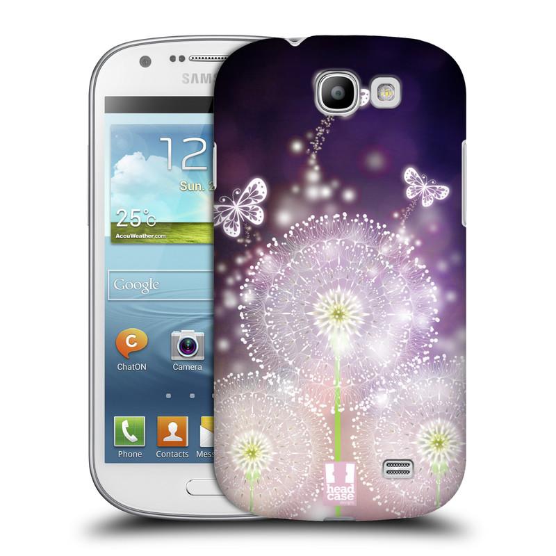 Plastové pouzdro na mobil Samsung Galaxy Express HEAD CASE Pampelišky a Motýlci (Kryt či obal na mobilní telefon Samsung Galaxy Express GT-i8730)
