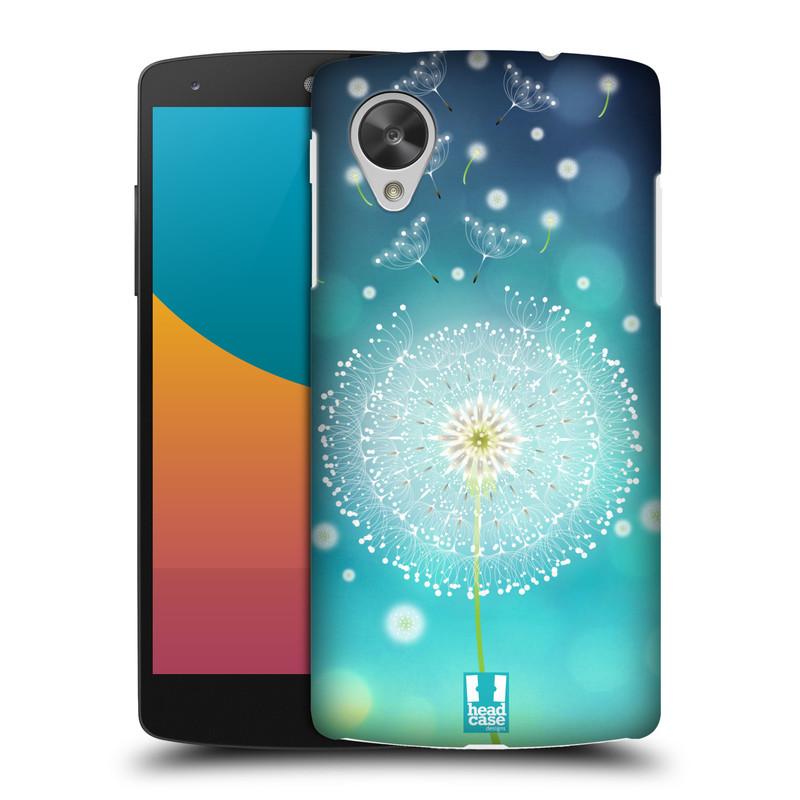 Plastové pouzdro na mobil LG Nexus 5 HEAD CASE Rozlétaná pampeliška (Kryt či obal na mobilní telefon LG Google Nexus 5 D821)
