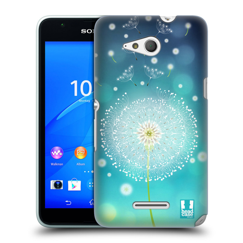 Plastové pouzdro na mobil Sony Xperia E4g E2003 HEAD CASE Rozlétaná pampeliška (Kryt či obal na mobilní telefon Sony Xperia E4g a E4g Dual SIM)