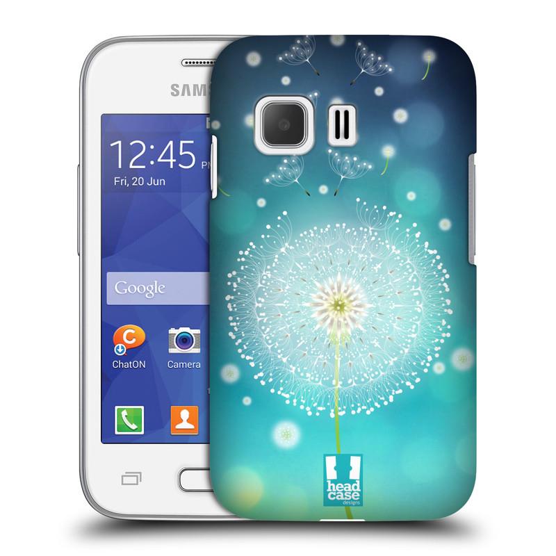 Plastové pouzdro na mobil Samsung Galaxy Young 2 HEAD CASE Rozlétaná pampeliška (Kryt či obal na mobilní telefon Samsung Galaxy Young 2 SM-G130)