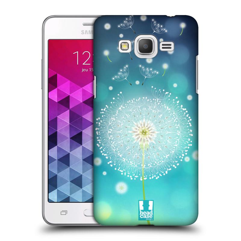 Plastové pouzdro na mobil Samsung Galaxy Grand Prime HEAD CASE Rozlétaná pampeliška (Kryt či obal na mobilní telefon Samsung Galaxy Grand Prime SM-G530)