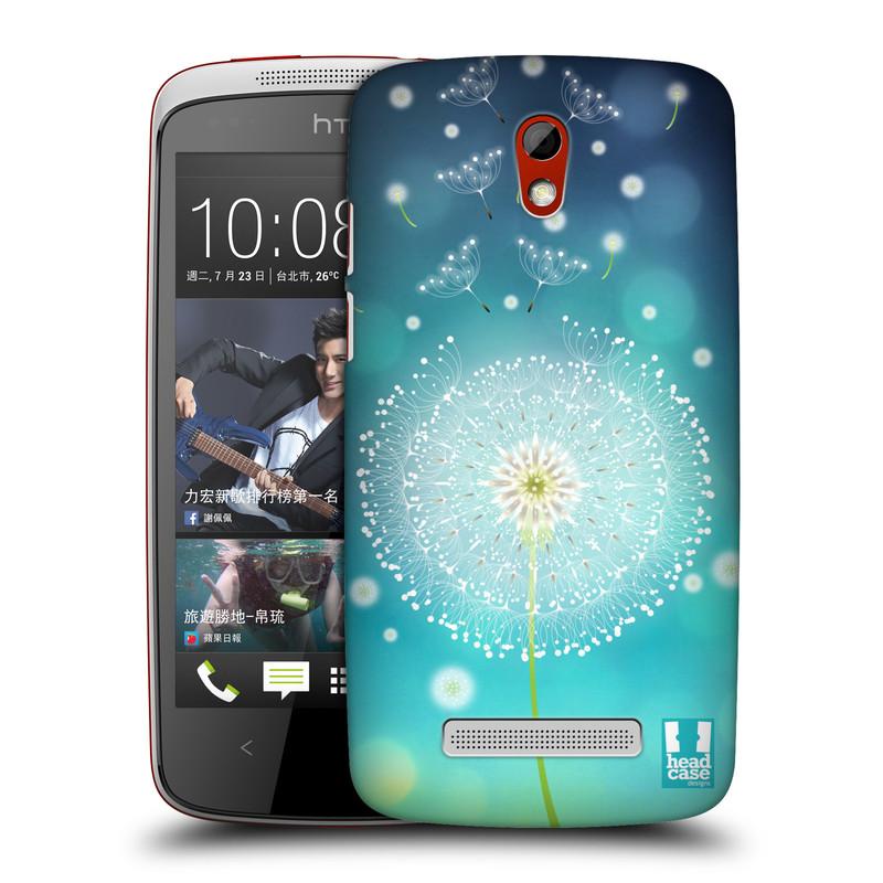 Plastové pouzdro na mobil HTC Desire 500 HEAD CASE Rozlétaná pampeliška (Kryt či obal na mobilní telefon HTC Desire 500)