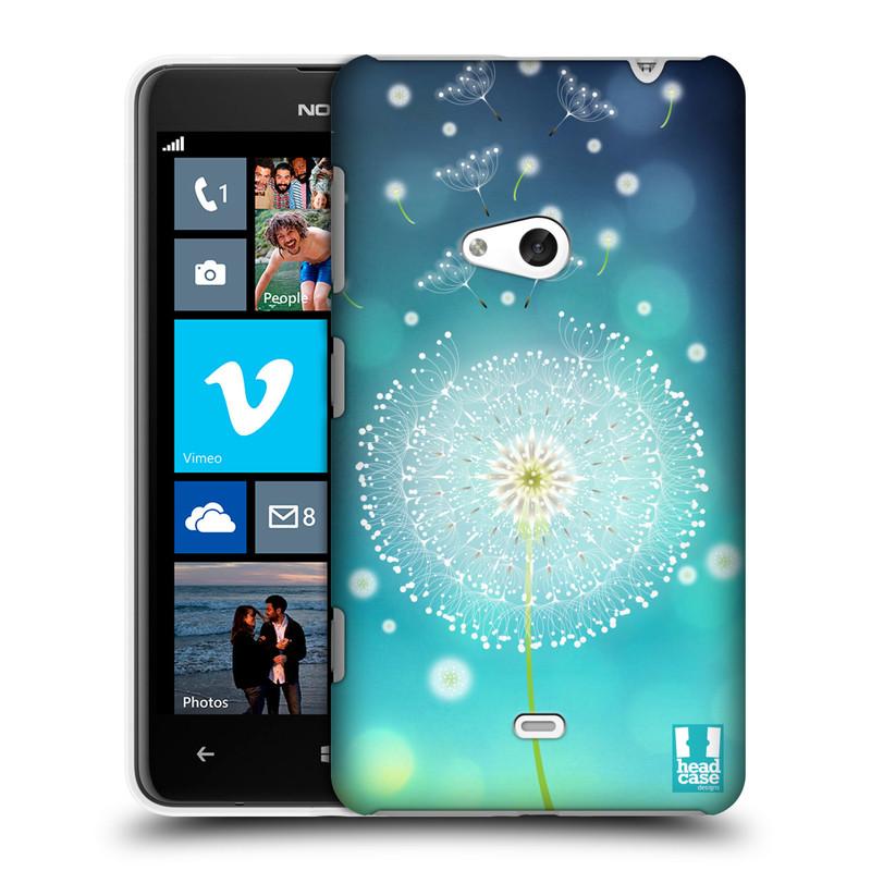 Plastové pouzdro na mobil Nokia Lumia 625 HEAD CASE Rozlétaná pampeliška (Kryt či obal na mobilní telefon Nokia Lumia 625)