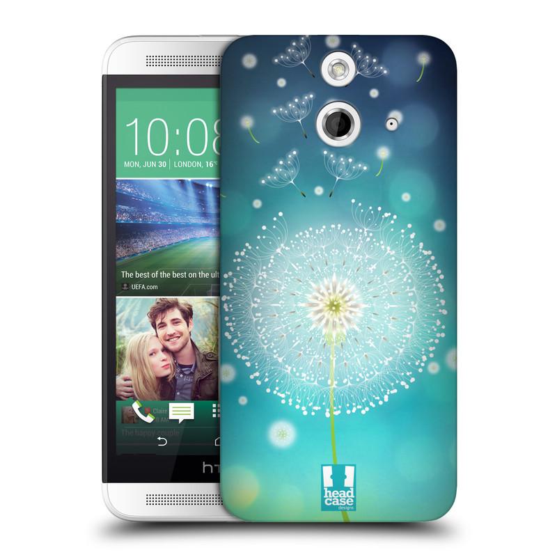 Plastové pouzdro na mobil HTC ONE E8 HEAD CASE Rozlétaná pampeliška (Kryt či obal na mobilní telefon HTC ONE E8)