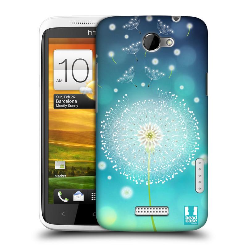 Plastové pouzdro na mobil HTC ONE X HEAD CASE Rozlétaná pampeliška (Kryt či obal na mobilní telefon HTC ONE X)