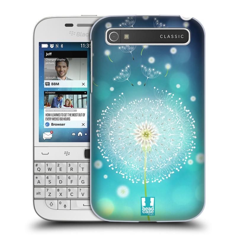 Plastové pouzdro na mobil Blackberry Classic HEAD CASE Rozlétaná pampeliška (Kryt či obal na mobilní telefon Blackberry Classic)