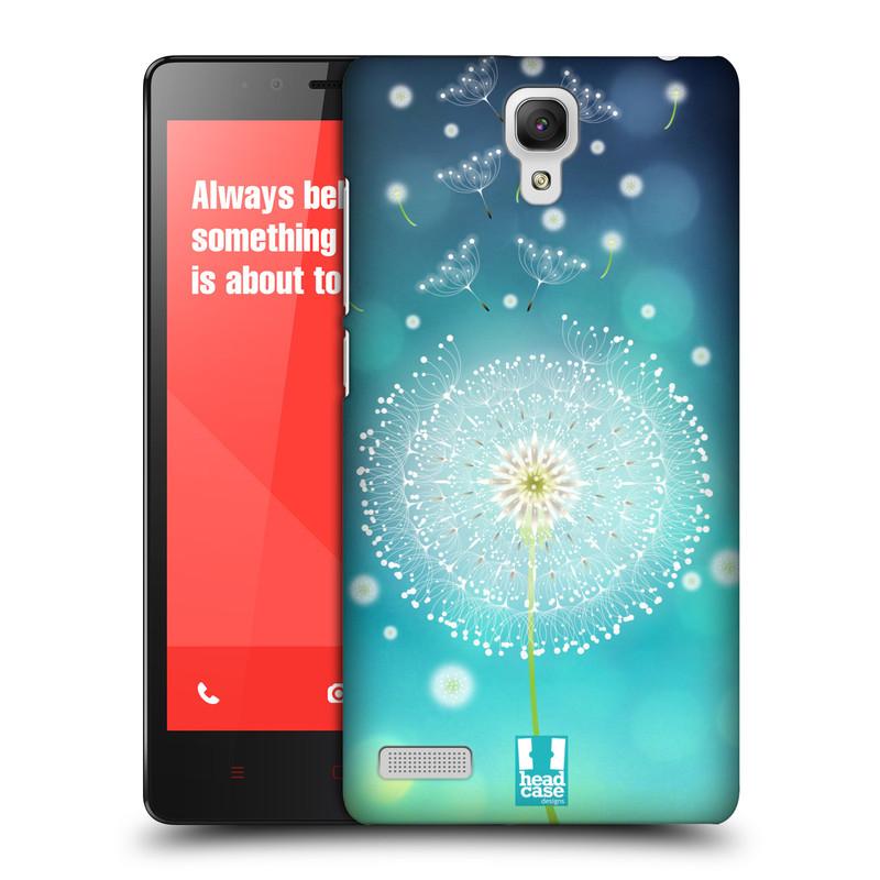 Plastové pouzdro na mobil Xiaomi Redmi Note LTE HEAD CASE Rozlétaná pampeliška (Kryt či obal na mobilní telefon Xiaomi Redmi Note LTE (4G) s 5,5'' displejem)