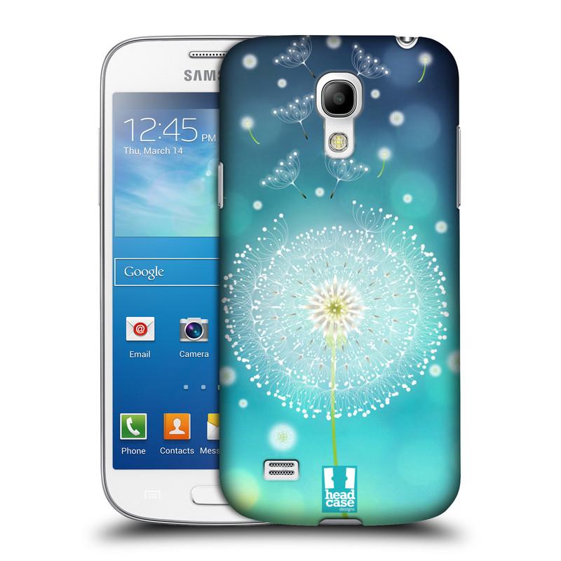Plastové pouzdro na mobil Samsung Galaxy S4 Mini HEAD CASE Rozlétaná pampeliška (Kryt či obal na mobilní telefon Samsung Galaxy S4 Mini GT-i9195 / i9190)