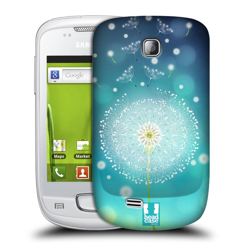 Plastové pouzdro na mobil Samsung Galaxy Mini HEAD CASE Rozlétaná pampeliška (Kryt či obal na mobilní telefon Samsung Galaxy Mini GT-S5570 / GT-S5570i)