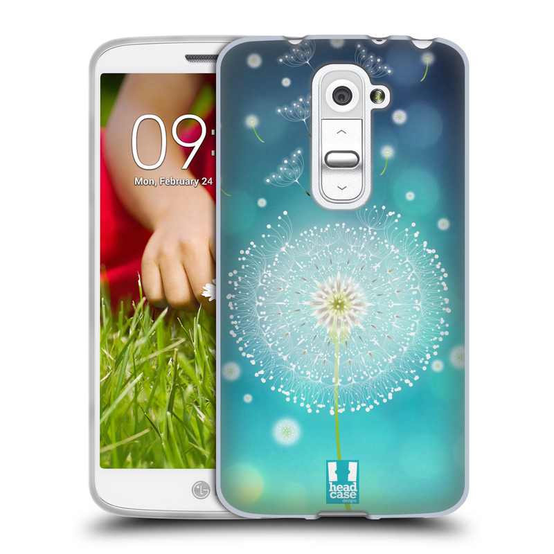 Silikonové pouzdro na mobil LG G2 Mini HEAD CASE Rozlétaná pampeliška (Silikonový kryt či obal na mobilní telefon LG G2 Mini D620)