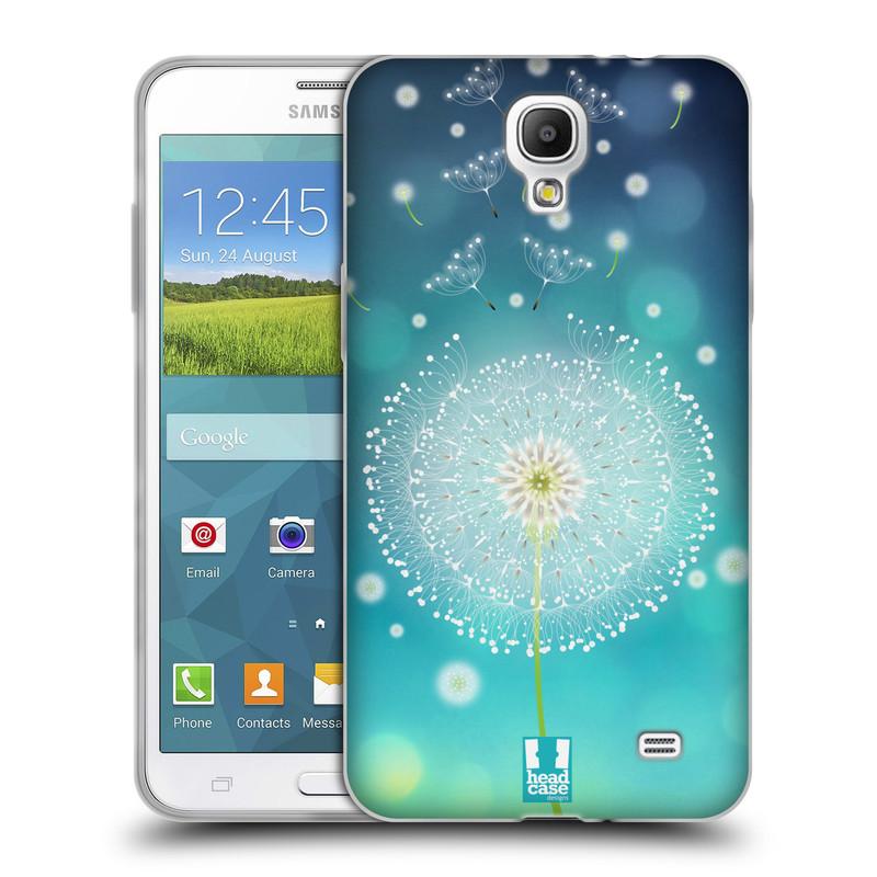 Silikonové pouzdro na mobil Samsung Galaxy Grand Mega 2 HEAD CASE Rozlétaná pampeliška (Silikonový kryt či obal na mobilní telefon Samsung Galaxy Grand Mega 2 SM-G750)