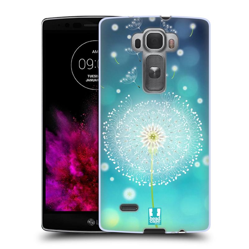 Silikonové pouzdro na mobil LG G Flex 2 HEAD CASE Rozlétaná pampeliška (Silikonový kryt či obal na mobilní telefon LG G Flex 2 H955)