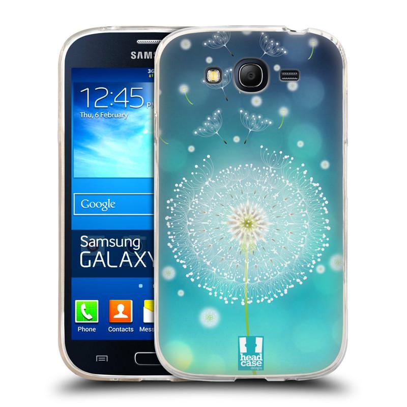 Silikonové pouzdro na mobil Samsung Galaxy Grand Neo HEAD CASE Rozlétaná pampeliška (Silikonový kryt či obal na mobilní telefon Samsung Galaxy Grand Neo GT-I9060)