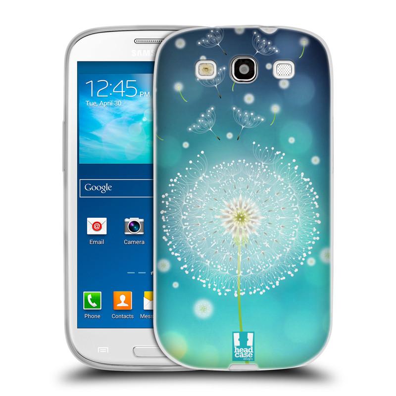 Silikonové pouzdro na mobil Samsung Galaxy S3 Neo HEAD CASE Rozlétaná pampeliška (Silikonový kryt či obal na mobilní telefon Samsung Galaxy S3 Neo GT-i9301i)