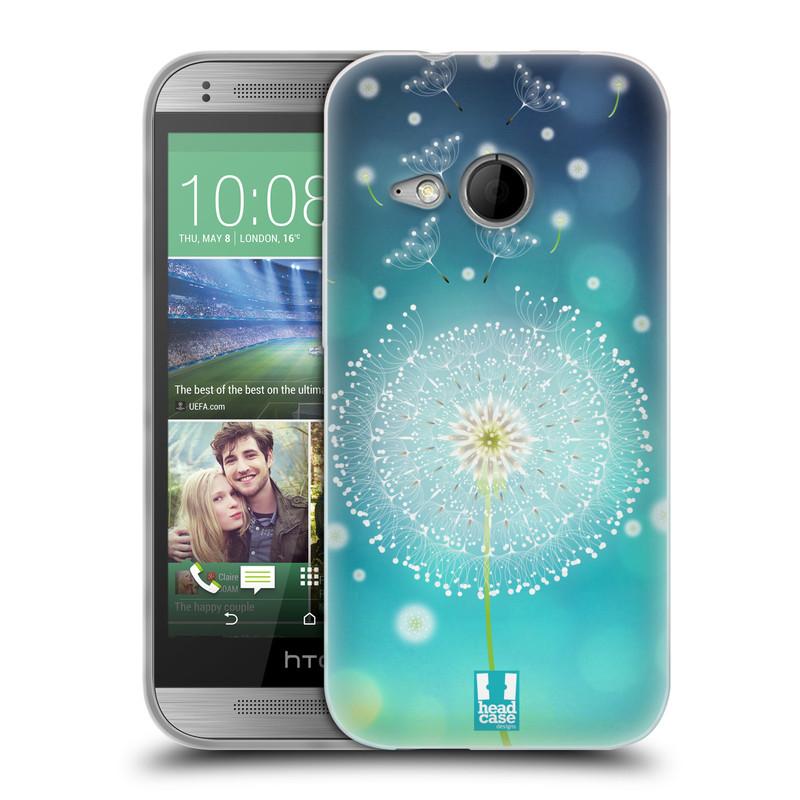 Silikonové pouzdro na mobil HTC ONE Mini 2 HEAD CASE Rozlétaná pampeliška (Silikonový kryt či obal na mobilní telefon HTC ONE Mini 2)