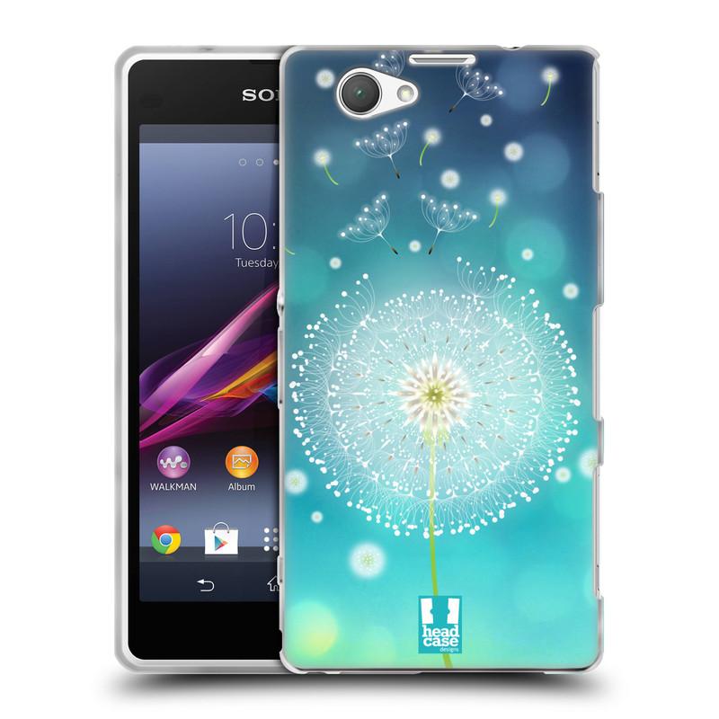 Silikonové pouzdro na mobil Sony Xperia Z1 Compact D5503 HEAD CASE Rozlétaná pampeliška (Silikonový kryt či obal na mobilní telefon Sony Xperia Z1 Compact)