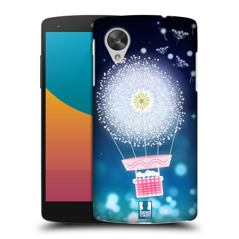 Plastové pouzdro na mobil LG Nexus 5 HEAD CASE Pampeliškový balón (Kryt či obal na mobilní telefon LG Google Nexus 5 D821)