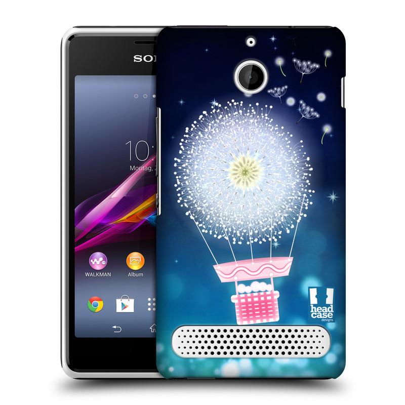 Plastové pouzdro na mobil Sony Xperia E1 D2005 HEAD CASE Pampeliškový balón (Kryt či obal na mobilní telefon Sony Xperia E1 a E1 Dual)