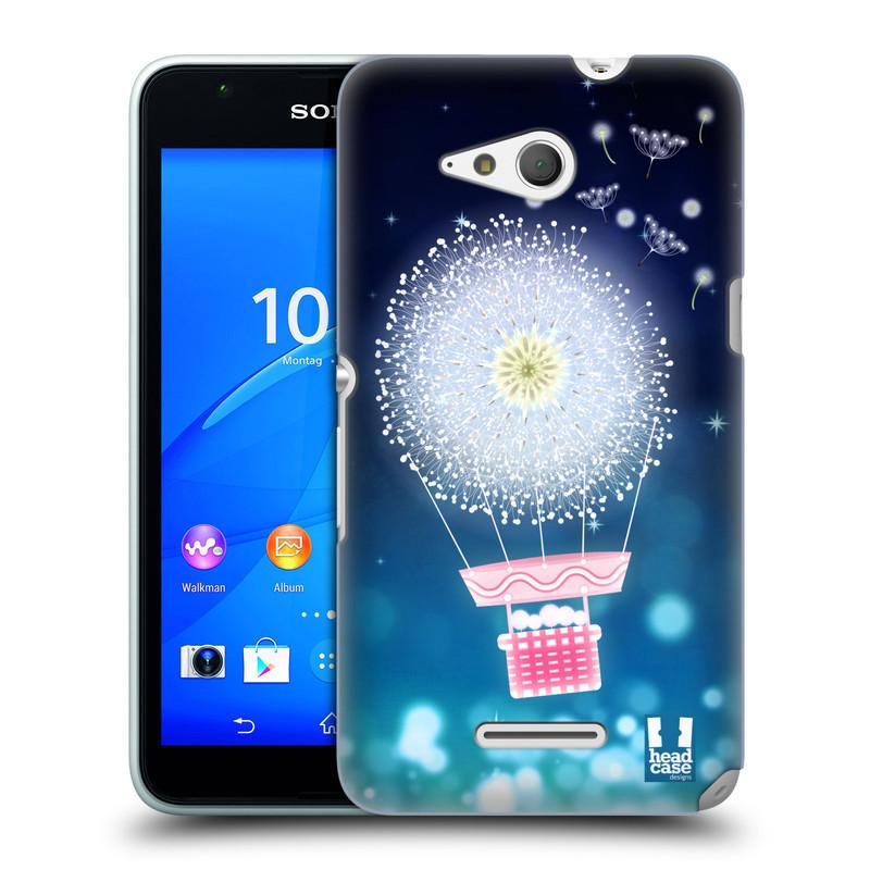 Plastové pouzdro na mobil Sony Xperia E4g E2003 HEAD CASE Pampeliškový balón (Kryt či obal na mobilní telefon Sony Xperia E4g a E4g Dual SIM)