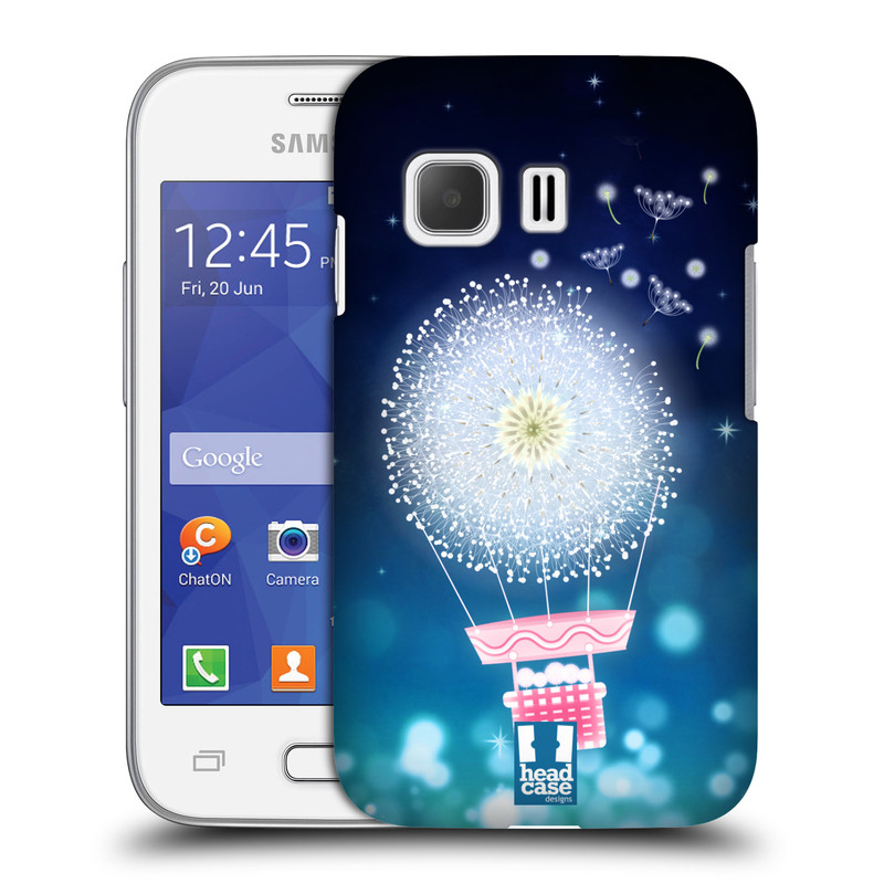 Plastové pouzdro na mobil Samsung Galaxy Young 2 HEAD CASE Pampeliškový balón (Kryt či obal na mobilní telefon Samsung Galaxy Young 2 SM-G130)