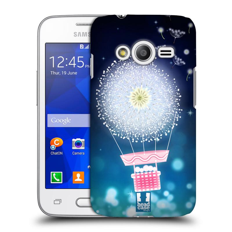 Plastové pouzdro na mobil Samsung Galaxy Trend 2 Lite HEAD CASE Pampeliškový balón (Kryt či obal na mobilní telefon Samsung Galaxy Trend 2 Lite SM-G318)