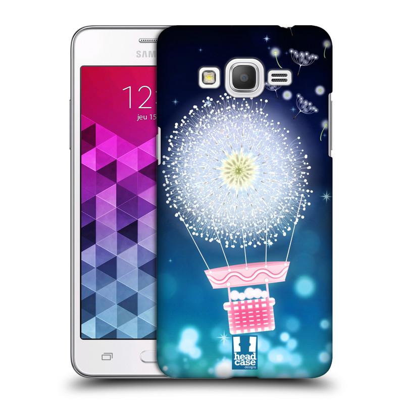 Plastové pouzdro na mobil Samsung Galaxy Grand Prime HEAD CASE Pampeliškový balón (Kryt či obal na mobilní telefon Samsung Galaxy Grand Prime SM-G530)