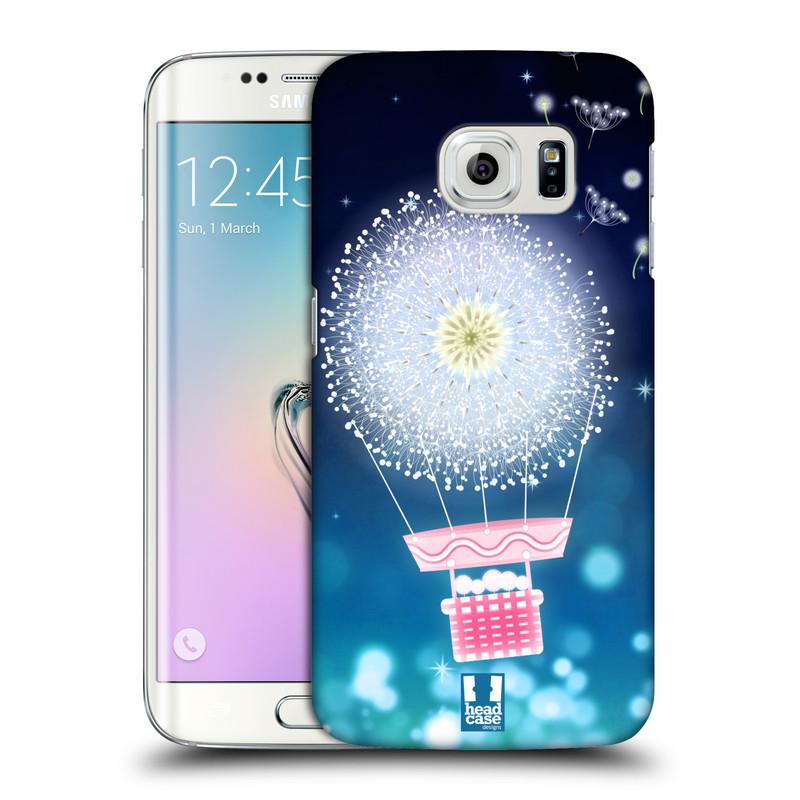 Plastové pouzdro na mobil Samsung Galaxy S6 Edge HEAD CASE Pampeliškový balón (Kryt či obal na mobilní telefon Samsung Galaxy S6 Edge SM-G925F)