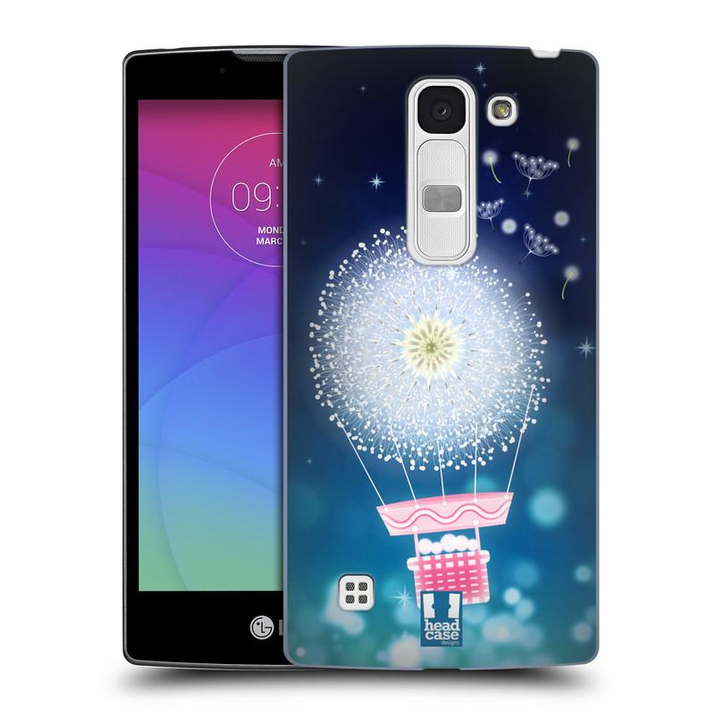 Plastové pouzdro na mobil LG Spirit LTE HEAD CASE Pampeliškový balón (Kryt či obal na mobilní telefon LG Spirit H420 a LG Spirit LTE H440N)