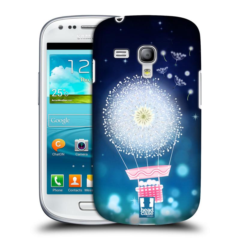 Plastové pouzdro na mobil Samsung Galaxy S III Mini HEAD CASE Pampeliškový balón (Kryt či obal na mobilní telefon Samsung Galaxy S III Mini GT-i8190)