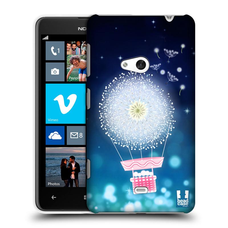 Plastové pouzdro na mobil Nokia Lumia 625 HEAD CASE Pampeliškový balón (Kryt či obal na mobilní telefon Nokia Lumia 625)