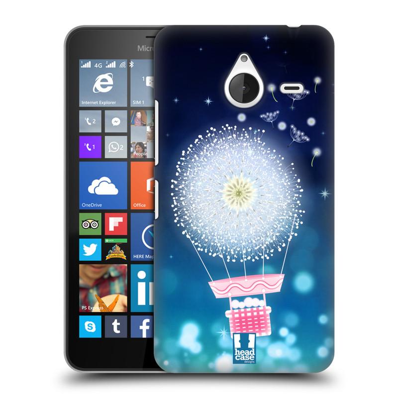 Plastové pouzdro na mobil Microsoft Lumia 640 XL HEAD CASE Pampeliškový balón (Kryt či obal na mobilní telefon Microsoft Lumia 640 XL)